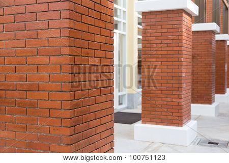 Brick Pillar