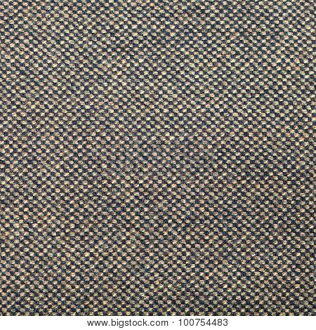 Square Background From Green Brown Tweed Fabric