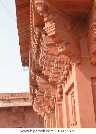 Harem Palace Of Red Sandstone