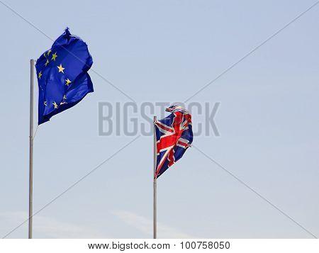 Flag Europe And United Kindom