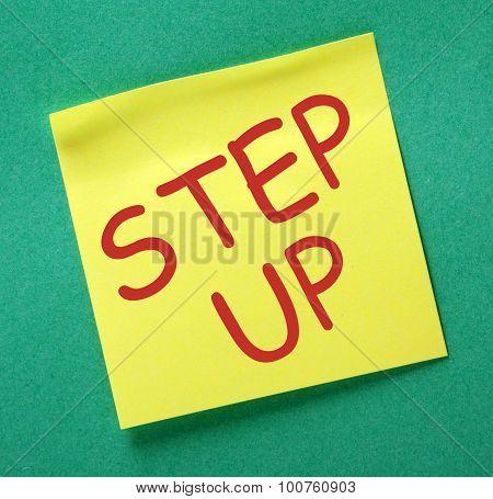 Step Up Reminder