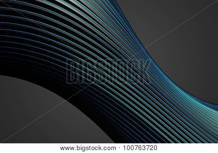 Abstract Rendering of Dark Background.