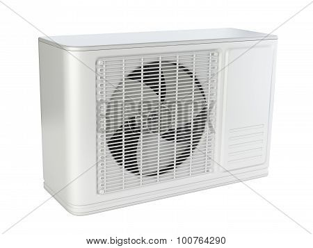 Modern Air Conditioner External Block