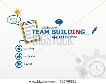 Team Building Graph Concept And Notebook.