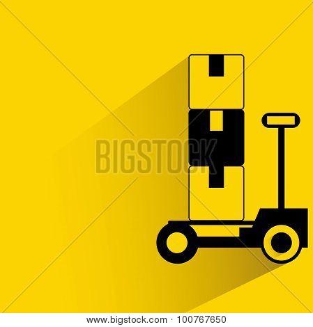 shipping trolley