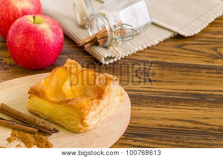 Apple Turnover Background / Apple Turnover / Homemade Apple Turnover Background