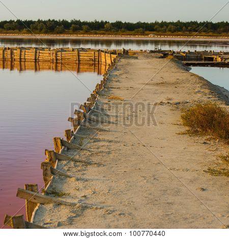 Fastening Of Artificial Dams