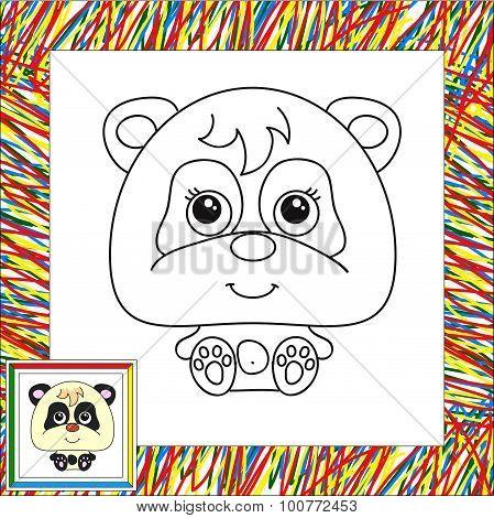 Funny Cartoon Panda