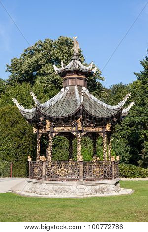 Chinese Pavilion At The Museums Of The Far East, Brussels