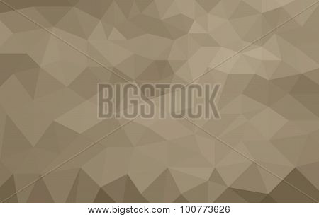 monochromatic brown abstract low poly background