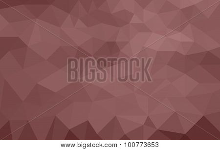 monochromatic red abstract low poly background