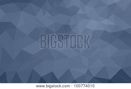 monochromatic blue abstract low poly background