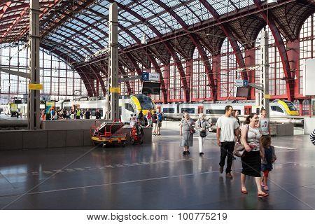 Antwerp Main Railway Station
