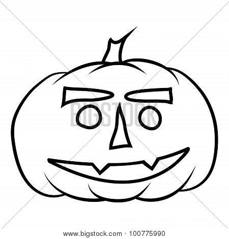 Hand Drawn Jack-o-lantern