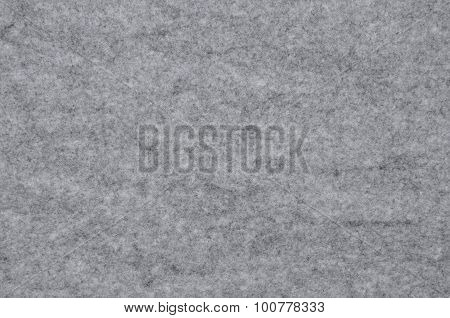 Surface of grey fel as background or texture