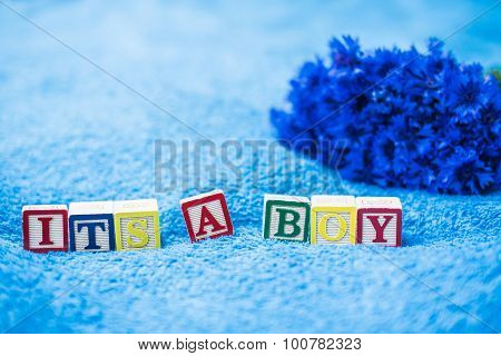 It's A Boy Pregnancy Announcement