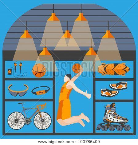Shop sporting goods basketball, skating, biking, ball