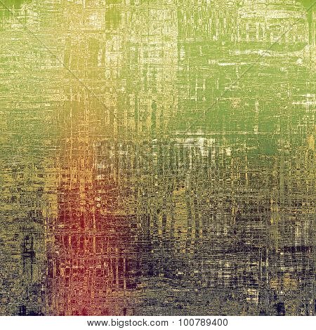 Grunge texture or background with space for text. With different color patterns: yellow (beige); pink; purple (violet); green