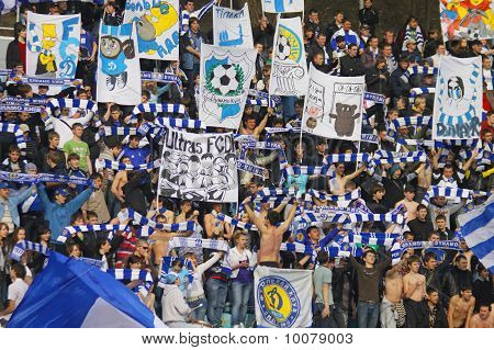 Dynamo Kiev Football Team Supporters