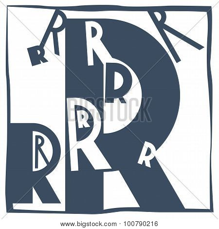 Initial Letter R