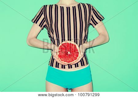 Girl And Grapefruit, Vanilla, Fashion Style, Minimal