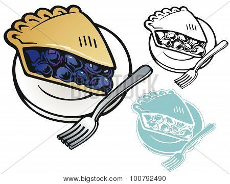 Blueberrry pie