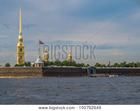 Bell Tower at the Peter and Paul Fortress