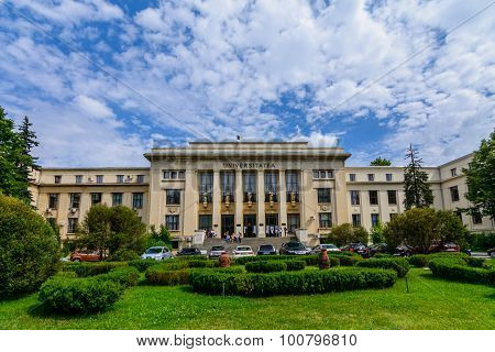 Bucharest, Romania - June 28: The Law School University On June 28, 2015 In Bucharest, Romania. The