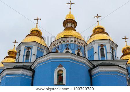 St Michael's Golden Domed Monastery in Kiev, Ukraine
