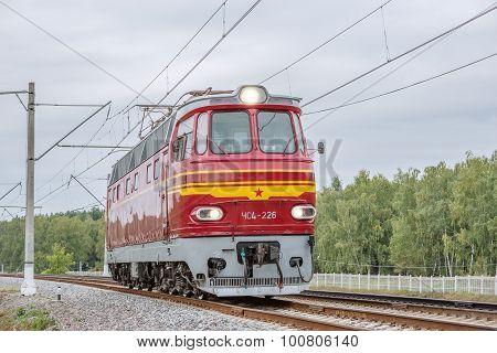 Retro Passenger Locomotive.