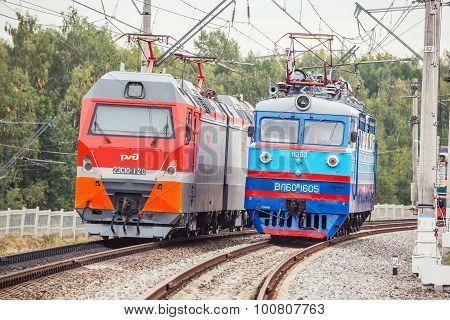 Electric Locomotives.