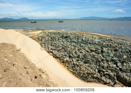 Reclamation Project, Fill Up, Construction Plan, Vietnam