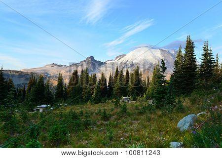Mount Rainier, Washington State, Sunrise