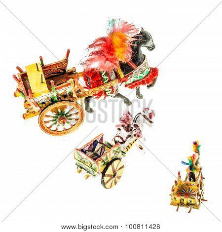 Sicilian Carts Collection