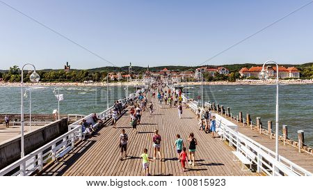 Skyline of Sopot