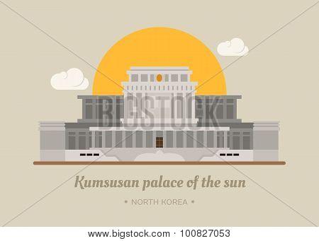 Kumsusan Palace Of The Sun , North Korea