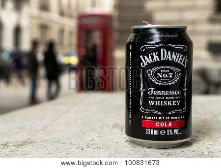 Jack Daniels Cola Can