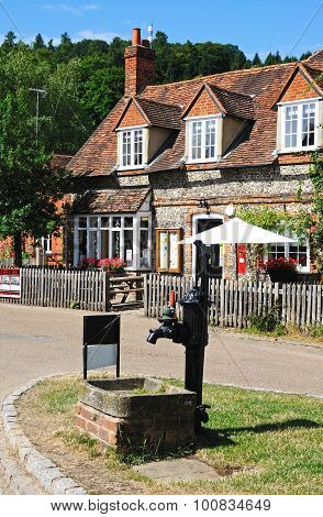 Hambledon village centre.