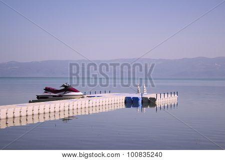 Jetski On Lake