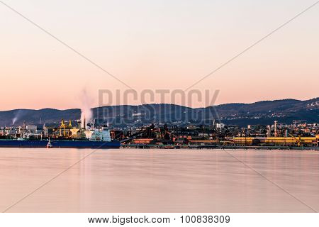 Docks Of Trieste