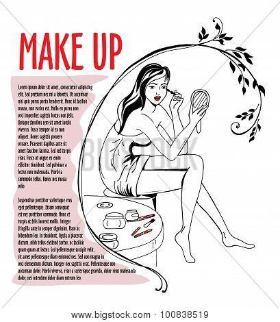 Girl Makes Make-up