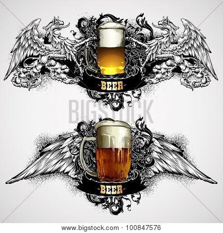 Beer Mugs Decorative