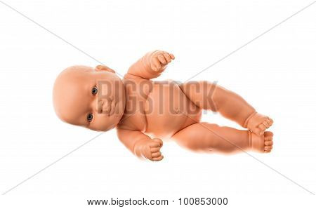 baby doll isolated