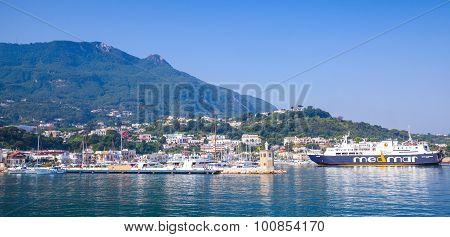 Casamicciola Terme, Ischia, Panoramic Cityscape