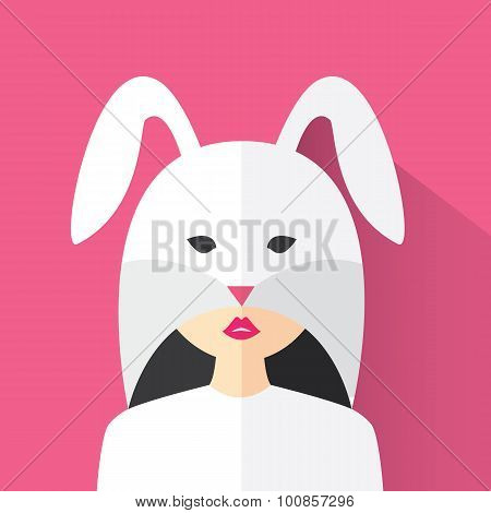 The Girl In The Bunny Suit