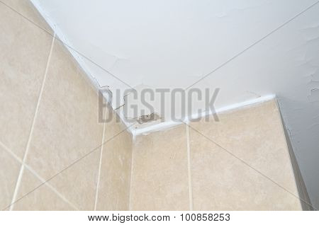 Stucco Cracks On Ceiling