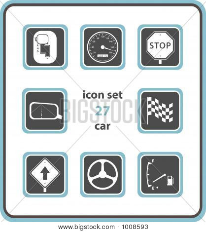 Vector Icon Set 27: Car