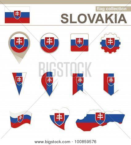 Slovakia Flag Collection