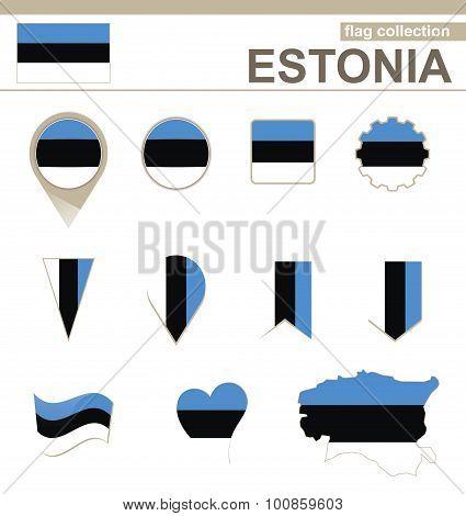 Estonia Flag Collection