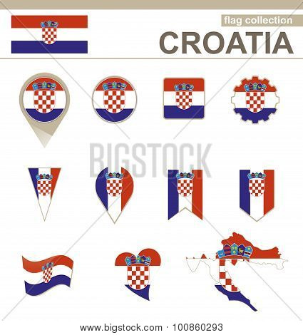 Croatia Flag Collection